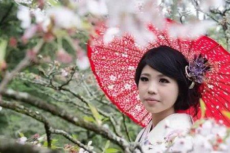日式和服-櫻花戀