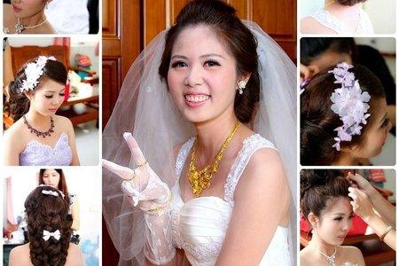 結婚婚宴三造型