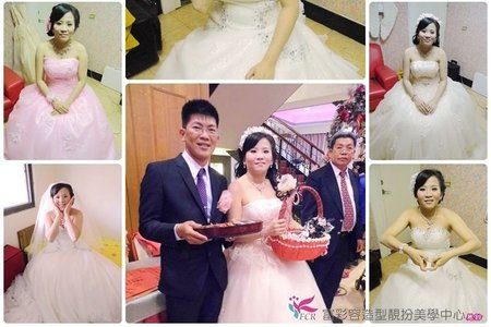 婚宴三造型