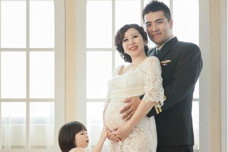 全家福-孕婦造型彩妝