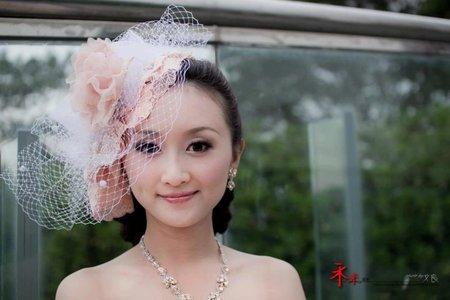 宮廷風創作婚紗二造型