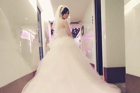 佳玲結婚喜宴三造型