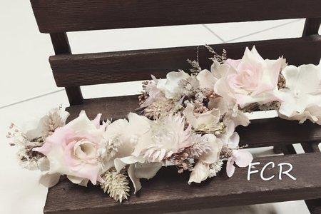 花嫁系列..手作髮飾