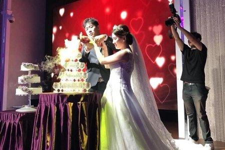 短髮新娘-華麗浪漫晚宴婚禮