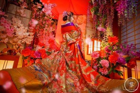 花魁系婚紗包套 | 豪華型