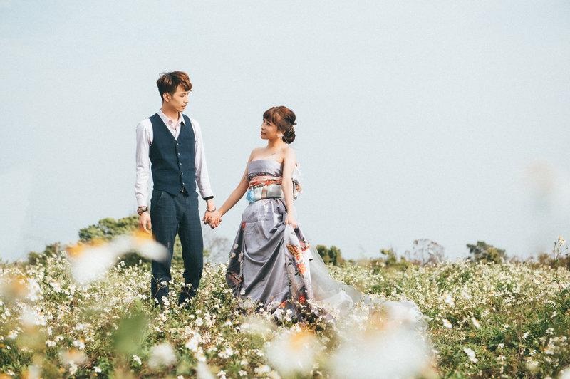 拍婚紗,日系,主題婚紗,和洋折衷振袖婚紗
