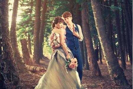 和洋式振袖婚紗 雙人情侶婚紗組