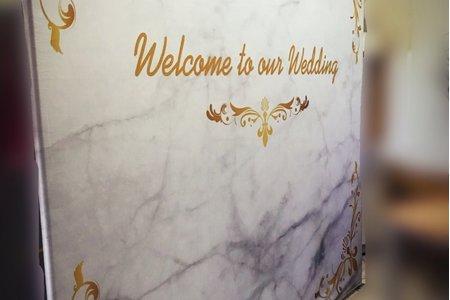 羅馬風黃金大理石背板