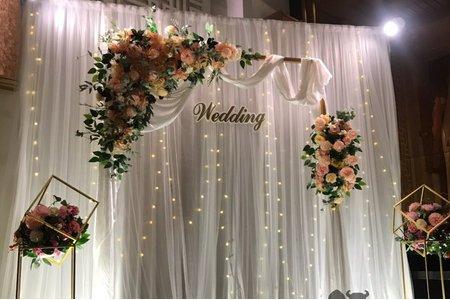 拱門紗幔 背板 背景 婚禮背板 結婚背板 - 肯尼西爾花藝裝潢婚禮佈置