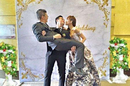 羅馬大理石拍照背板 婚禮背板 - 肯尼西爾花藝裝潢 婚禮佈置