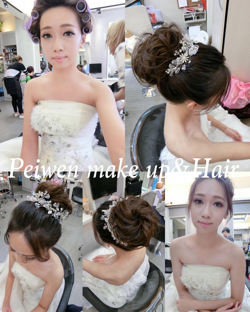 張佩文❤️新娘秘書 2套造型作品