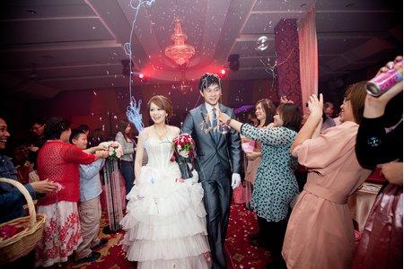台中婚禮紀錄(全國飯店&宴客-江屋日本料理)
