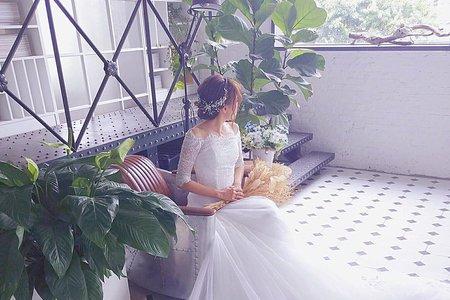 6/19🌾憶倩婚紗棚拍三造型✨