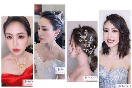 4/6 短髮+黑髮新娘訂結4造型