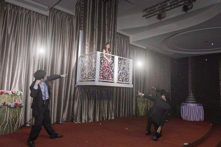 台南東東宴會式場婚攝 | 闖關遊戲有創意,新郎玩得很給力