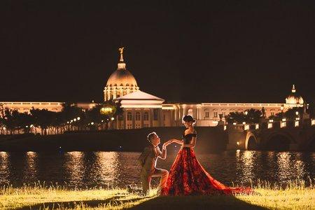 [台南自助婚紗山姆]奇美博物館也可以很歐風|Hermosa婚紗