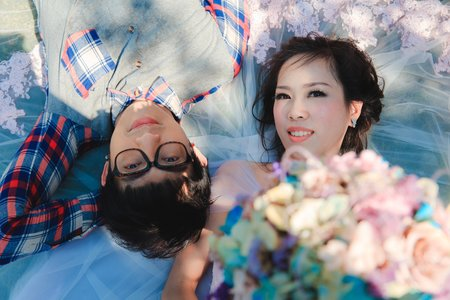 YI&Larry自助婚拍