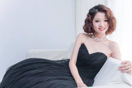 小嗆Crystal -Full in Love 整體造型~新娘造型範例