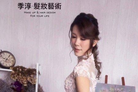 古董刺繡婚紗