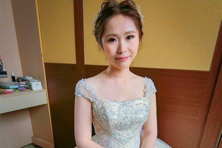[Bride 欣慧]韓系精緻妝髮(短髮新娘)