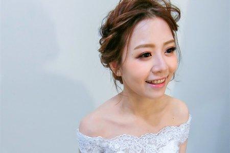 [Bride 仕璇]俐落馬尾 甜系妝髮