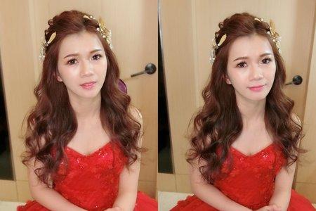 [Bride 清慧]清新波浪捲髮