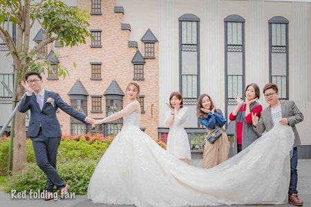 紅扇影像&婚禮攝影 @阿沐婚宴會館 訓豪❤️雯琳