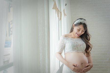 新竹紅扇影像&婚禮攝影 花啦啦孕婦寫真