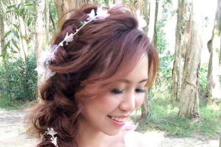 惠禎外拍結婚照