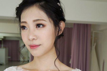 新娘短髮造型 01
