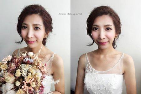 婚紗作品_韓系甜美風格