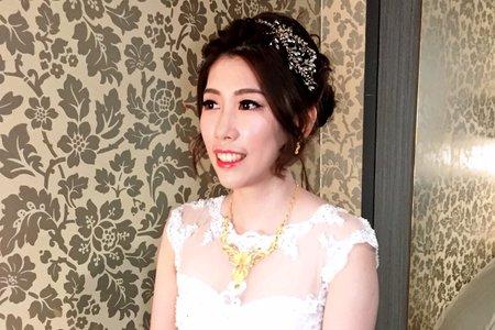 Wedding_氣質白紗進場造型