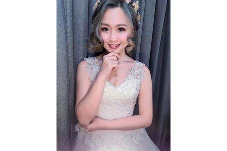 婚紗作品《花仙子公主長髮》