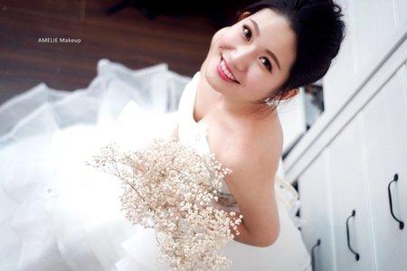 婚禮造型_清新風格婚紗