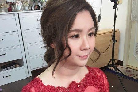 婚禮造型_韓系優雅浪漫長髮造型
