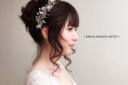 婚禮造型《浪漫仙氣盤髮》