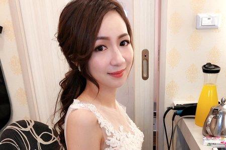 |婚禮造型|浪漫優雅長髮