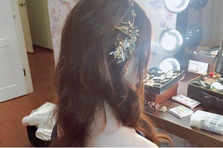 |婚禮造型|甜美公主長髮