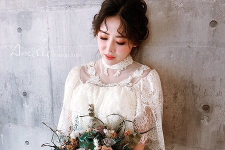 婚紗作品_法式優雅女伶