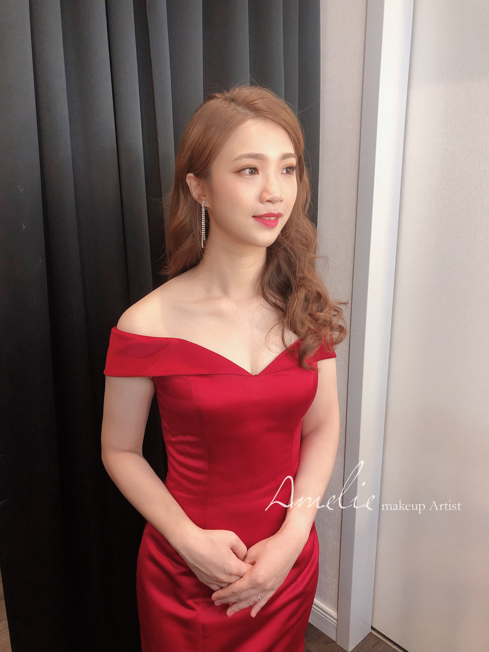 Zoey結婚送客造型01 - 婚禮造型 Amelie makeup《結婚吧》
