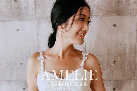 Amelie makeup-韓系低馬尾