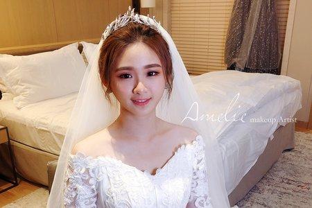 Amelie makeup-婚禮造型<萬豪酒店>