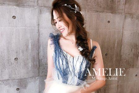 Amelie makeup-浪漫編髮