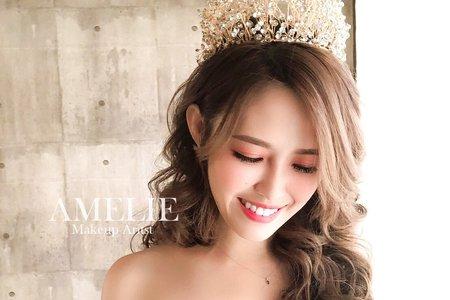 Amelie makeup-氣勢皇冠