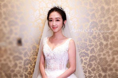 Amelie makeup-婚禮造型<阿沐>