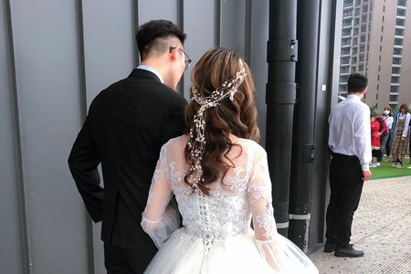 Amelie makeup-戶外婚禮造型<八德彭園>