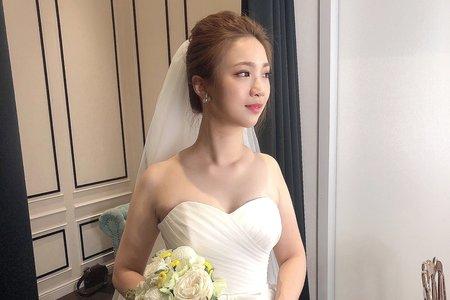 Amelie makeup-美式風格白紗造型<八德彭園>