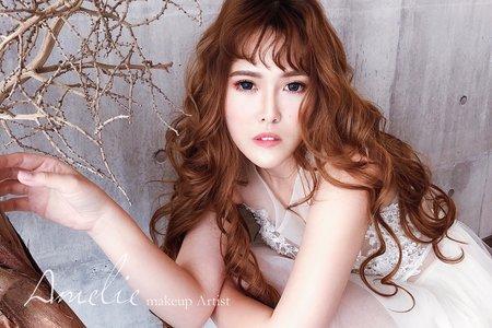 Amelie makeup-浪漫仙仙長髮
