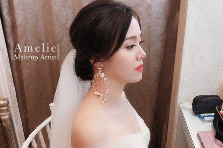 Amelie makeup-美式簡約婚禮造型