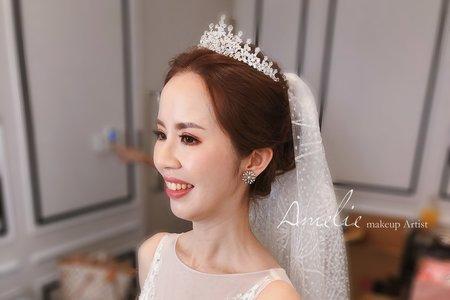 Amelie makeup-婚禮造型 <八德彭園>
